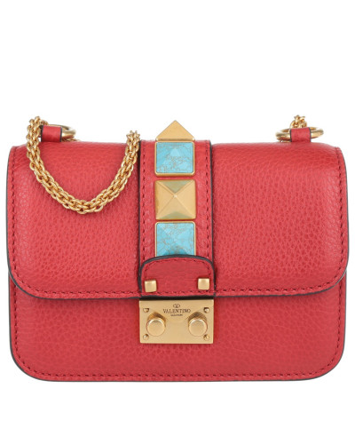 valentino damen valentino tasche mini lock rolling bag. Black Bedroom Furniture Sets. Home Design Ideas