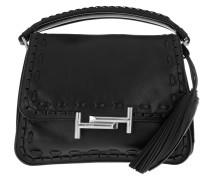 Double T Umhängetasche Handle Bag Nero