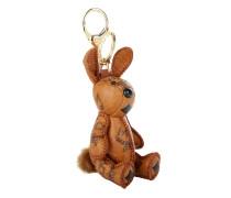 Visetos Animal Charm Rabbit Cognac Schlüsselanhänger cognac