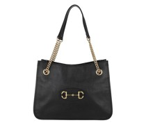 Shopper Medium Horsebit Shopping Bag Leather