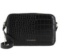Umhängetasche Stina Double Zip Mini Camera Bag Black