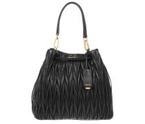 Tasche - Matelassé Secchiello Bucket Bag Nero