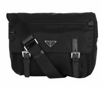 Crossbody Bags Vela Messenger Nylon Nero