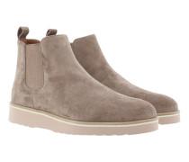 King Crosta Plateau Boots Grey Rose Schuhe grau