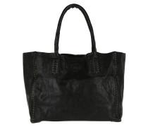 Shopping Bag Media Rivet Vachette Nero Umhängetasche braun
