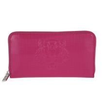 Tiger Continental Wallet PVC Deep Fuschia Portemonnaie