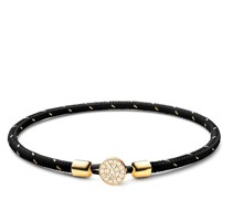 Armband Nexus Rope Bracelet Vermeil White Sapphire Polishe