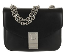 Crossbody Bags C Bag Small Shiny Calfskin