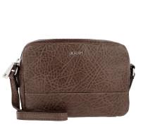 Cloe Shoulder Bag Small Bubble Dark Brown Umhängetasche