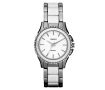 Armbanduhr - Westside Chrono Bracelet Silver White