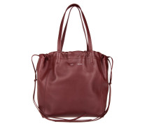 Coulisse Small Bucket Bag Light Burgundy/Brick Beuteltasche rot