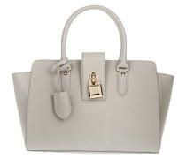 Tasche - Large Padlock Handbag Warm Grey