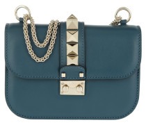 Rockstud Small Shoulder Bag Peacock