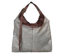 Pallino Metal Shopping Bag Moro Umhängetasche braun