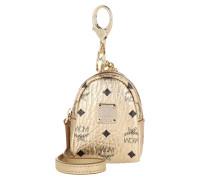 Keychain Charm Tear Drop Airpod Case Berlin Gold