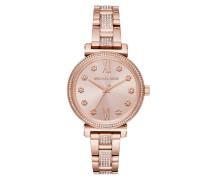 Ladies Sofie Rosegold Armbanduhr