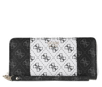 Portemonnaie Kamryn Wallet Large Zip Around Coal Multi