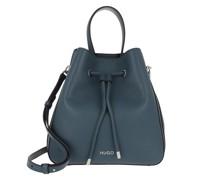 Beuteltasche Victoria Drawstring Bag Dark Blue