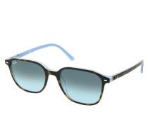 Sonnenbrille 0RB2193 13163M Unisex Sunglasses Icons Top Havana On Light Blue