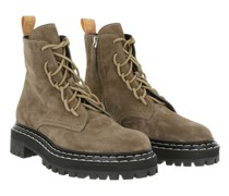 Boots & Stiefeletten Combat Lace Up Ankle Boot
