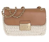 Sloan Editor LG Chain Shoulder Bag Natural Umhängetasche braun