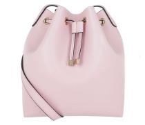 Ariel Calf Bucket Bag Malva Beuteltasche