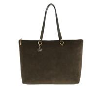 Shopper Alpha Suede Shopping Bag