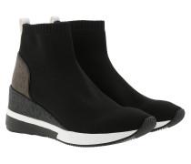 Sneakers Wedge Skyler Bootie Black Multi