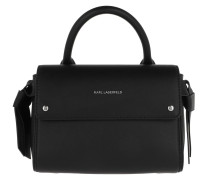 Satchel Bag Ikonic Mini Top Handle Black