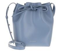 Beuteltasche Mini Bucket Bag Leather