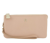 Roma Combination Wallet Tan Brown Portemonnaie beige