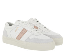 Sneakers Detailed Platform White Dusty Pink