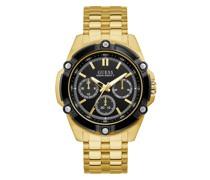 Uhr Mens Sport Watch Gold