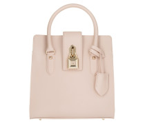Medium Padlock Handbag Butterfly Rose Tote rosa