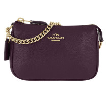 Nolita Wristlet 15 Pebble Light Gold/Plum Pochette lila
