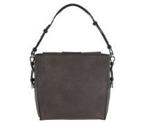 Thirtyfive Washed Cube Bag Taupe Hobo