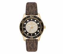 Uhr Women's Runway Three-Hand Stainless Steel Watch MK