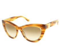 Sonnenbrille - 603S 256 Striped Cognac