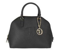 Tasche - Linea Ischia Ecoleather Dome Tote Black