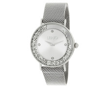 Uhr TLJ1341 Dancing Slim Quartz Watch Silver