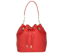 Tasche - Roma Shopper Leather Scarlet Red