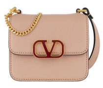 Umhängetasche Mini Shoulder Bag Leather Rose