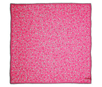 Accessoire Karl Ikonik All Over Print Scarf Fuchsia