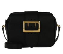 Zip Buckle Umhängetasche Bag Black