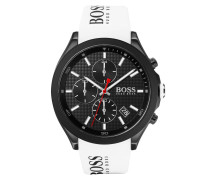 Uhr Chronograph Men Velocity 1513718 White