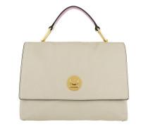 Liya Satchel Bag Seashell/Orchid