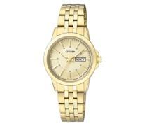 Uhr Ladies Sports Wristwatch Gold