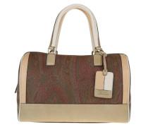 Tasche - Paisley Duffle Bag Brown/Beige