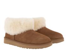 Boots W Classic Mini Fluff Chestnut