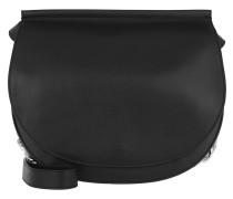 Infinity Saddle Bag Black Satchel